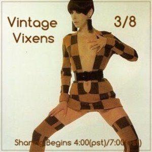MONDAY 3/8 Vintage Vixens Sign Up Sheet
